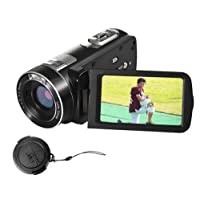 "Camcorder Cameras Video Camera With IR Night Vision 24.0 Mega pixels 3"" LCD Screen 18X Digital Zoom Portable Mini Handheld Camcorder Full HD Digital Camera"