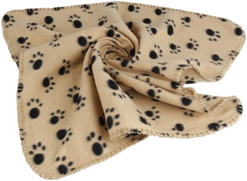 Yuhemii Winter Pet Small Medium Large Patte pour Animal Domestique Chat Chien Doux Couverture Lits