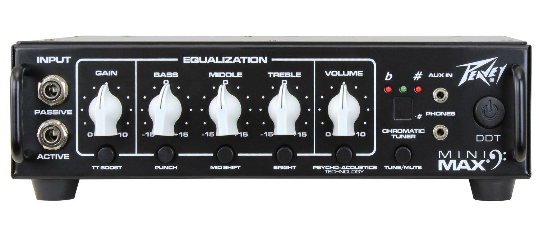 Peavey MINIMAX500 MiniMAX 500W Lightweight Bass Head Amplifier by Peavey