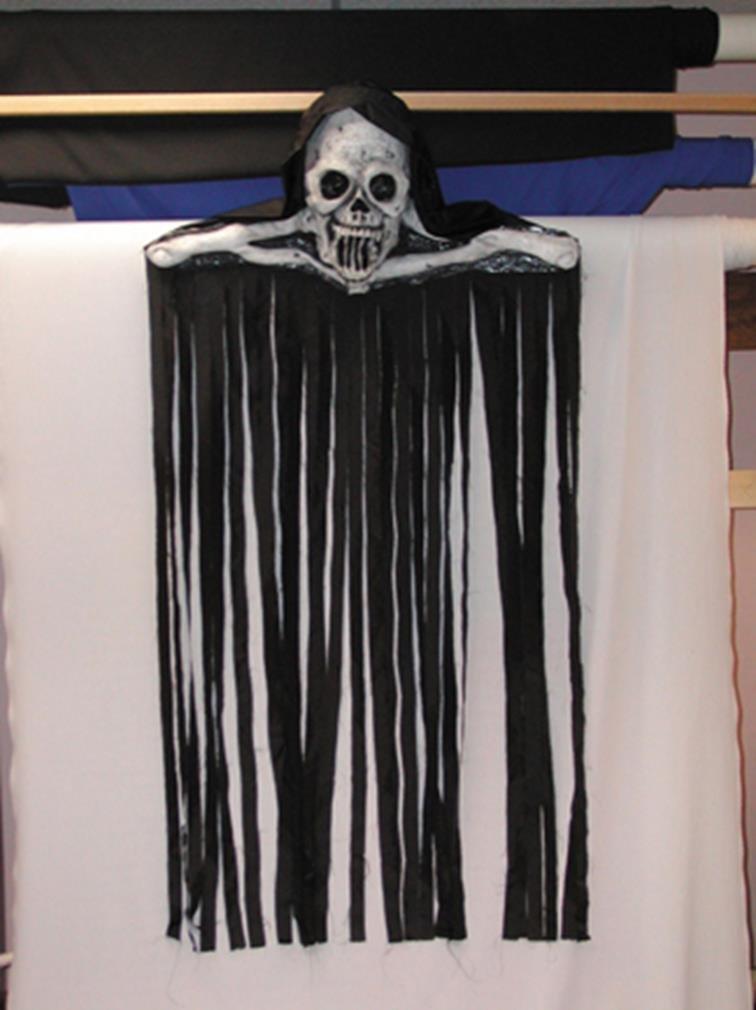 Skull Door Hanger by Morris Costumes