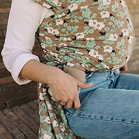 Perfect for Newborn Babies and Children up to 35 lbs Boba Wrap Baby Carrier Original Stretchy Infant Sling Hali