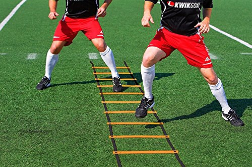 Kwik Goal Agility Ladder Hi-Vis Orange by Kwik Goal
