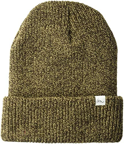 s Norm Beanie, Olive Marble, One Size ()
