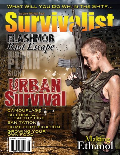 Survivalist Magazine Issue #9 - Urban Survival by [Bjanrson, Dianne, Anderson, Jeff, Green, Corcceigh, Dr. Bones, Nurse Amy/, Morris, David, Coffman, Sam, Bell, Doug, Bailey, Lucinda, Reeve, Kevin]