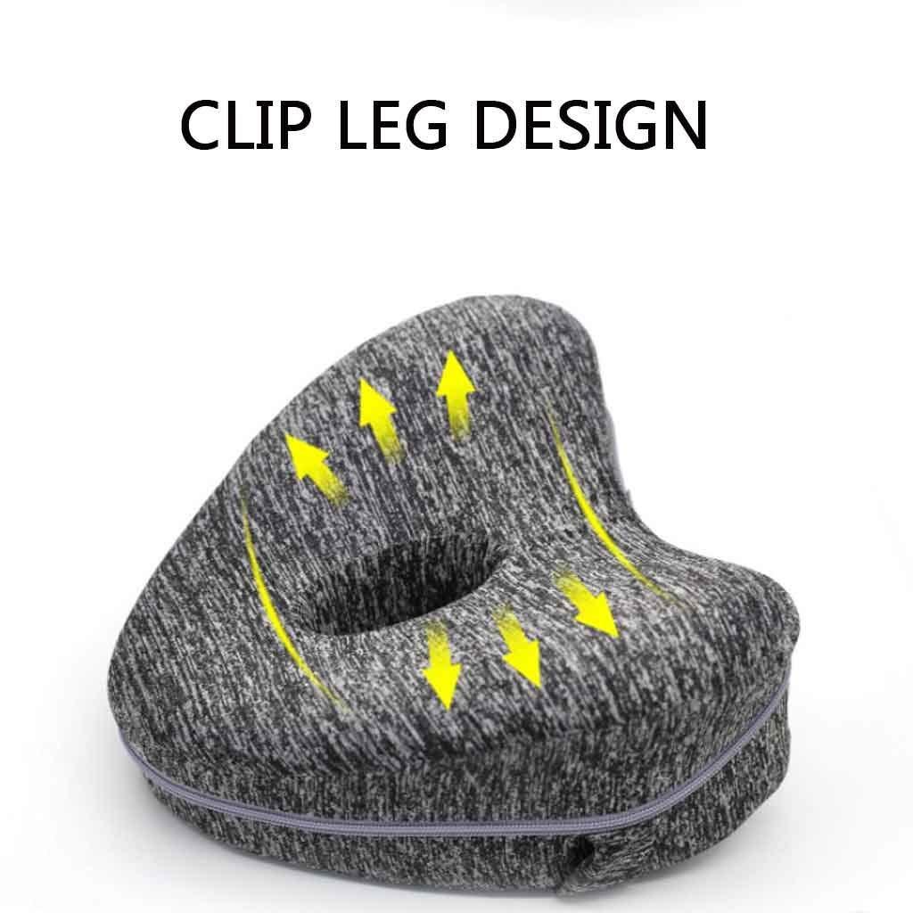 R/ücken und Wirbels/äule Ausrichtung Schwangerschaft Color : Yellow H/üfte Leg Stellungs Kissen Bein Kissen Beste for Ischias