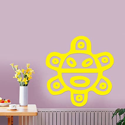 Amazon.com: Puerto Rico Sol Taino Sun Removable Wall Sticker Art ...