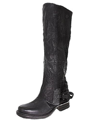 premium selection d4f85 7997a Bottes AS 98 - AIR STEP 717342 noir, chaussures femme - taille   40