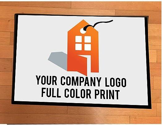 VictoryStore Realtor Gifts – Realtor Door Mat – Realtors Doormat 24 inches x 36 inches Custom Logo