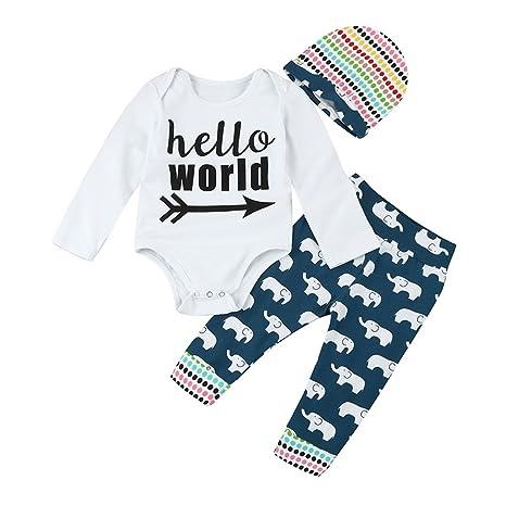 sukisuki bebé manga larga ropa de recién nacidos infantil, para niños niñas Pelele Jumpsuits White&Blue
