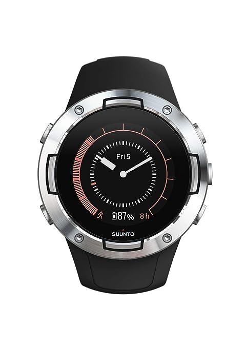 Suunto 5 Reloj Deportivo, Unisex-Adult, Negro/Plateado, One Size ...