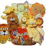 Art of Appreciation Gift Baskets Cuddly, Cuddly Cub New Baby Gift Basket, Boy
