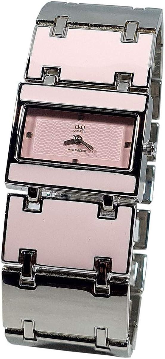 Reloj de mujer Q&Q by Citizen bicolor vintage esmaltado F165-212Y