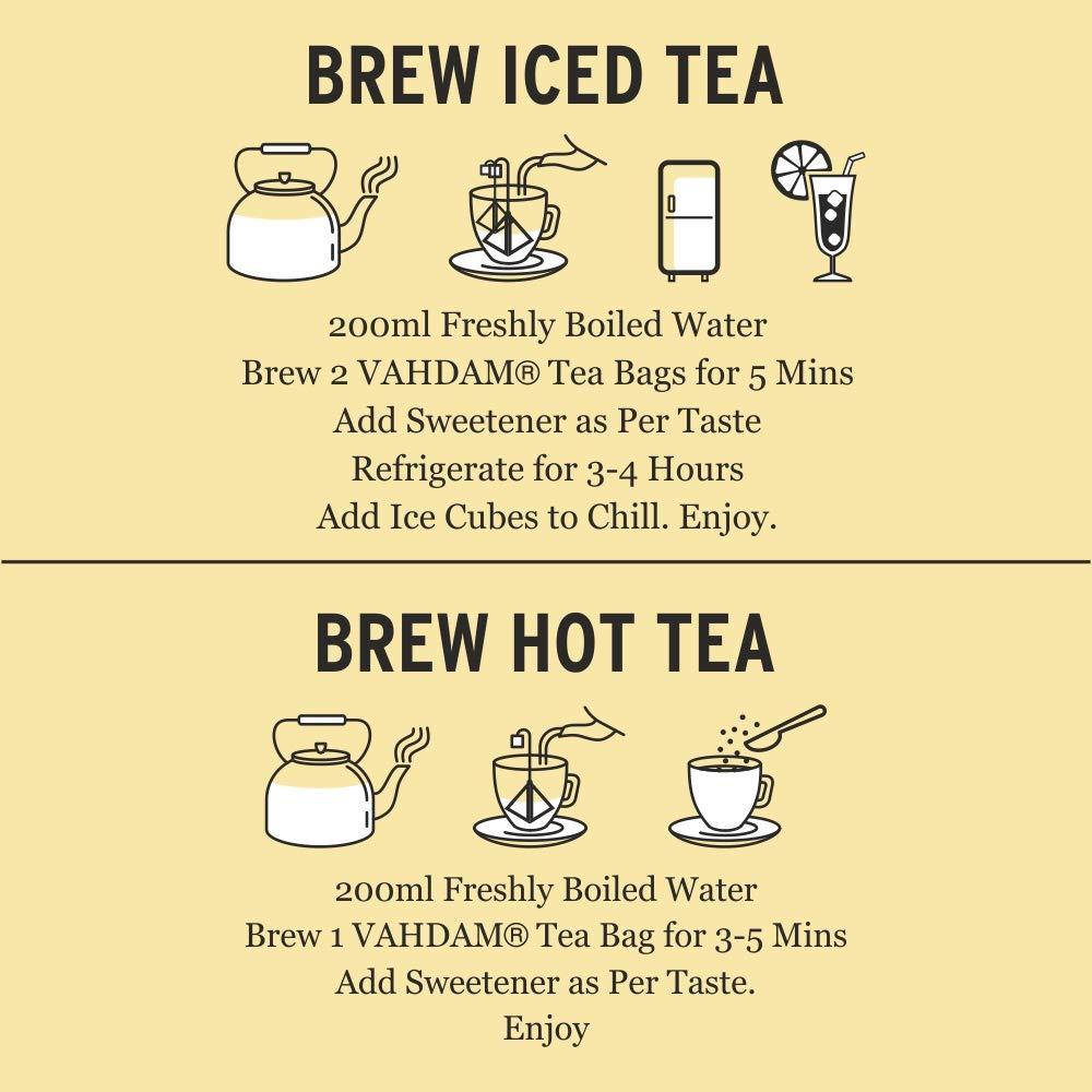 Nilgiri Breakfast Black Tea ROBUST /& FLAVORY English Tea VAHDAM Black Tea Loose Leaf Tea 12oz Iced Tea Kombucha Tea or Latte 150+ Cups Brew as Hot Tea | 100/% PURE Black Tea Leaves