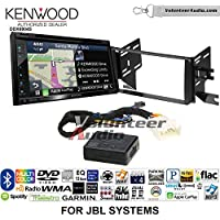 Volunteer Audio Kenwood Excelon DNX694S Double Din Radio Install Kit with GPS Navigation System Android Auto Apple CarPlay Fits 2007-2014 Toyota FJ Cruiser with Amplified System
