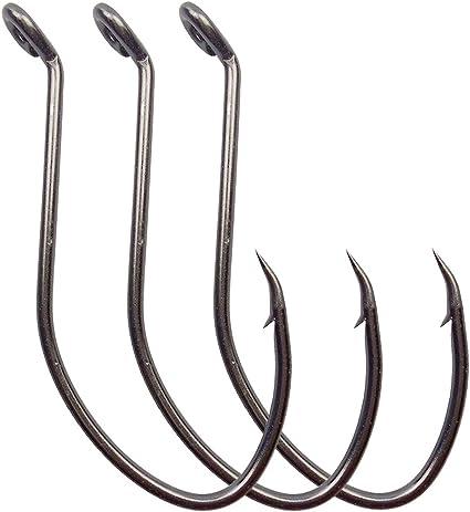 Fishing High Carbon Steel Circle Hooks Bait Hook Barbed Fishing Hook Fishhooks