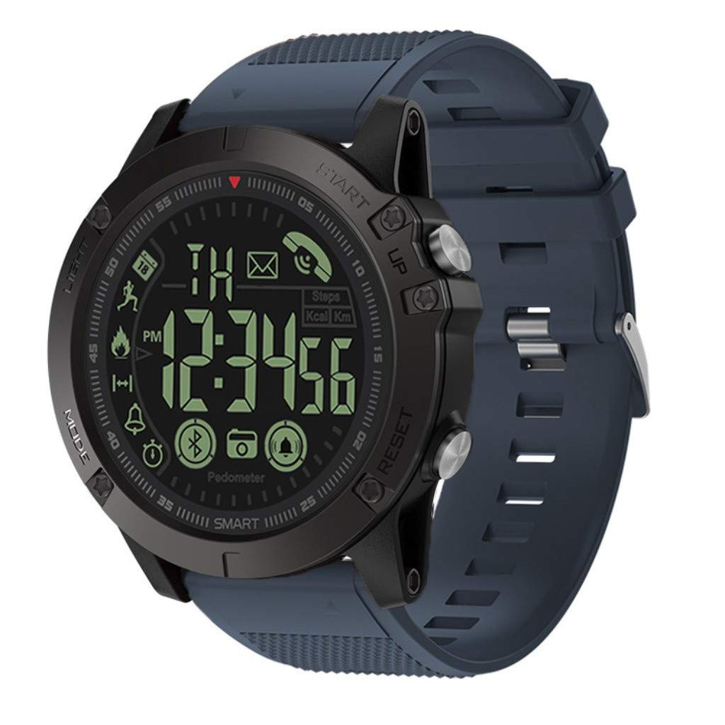 GXOK T1 Tact - Flagship Rugged Grade Super Tough Waterproof Smart Watch (Blue) by GXOK
