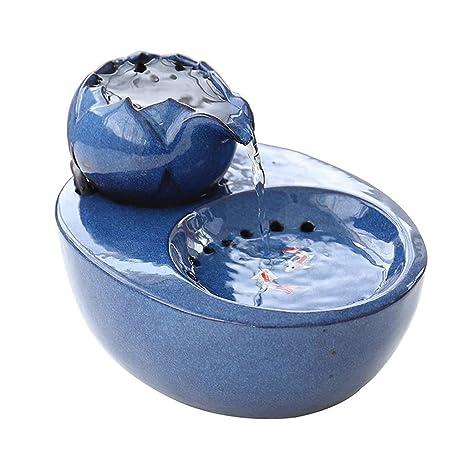 PETBYN Fuente de Agua para Mascotas, Dispensador de Agua ...