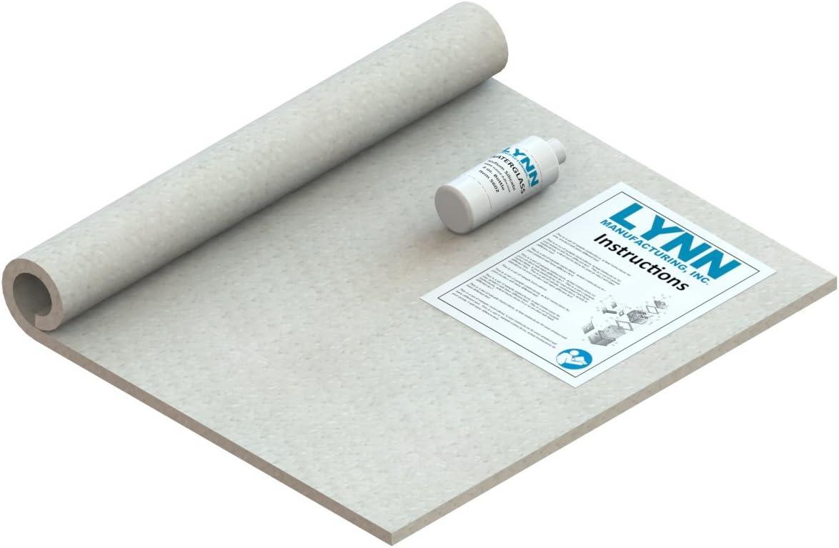 Lynn Manufacturing Kaowool 2300F Ceramic Fiber Blanket Kit for Boiler Floor for Weil Mclain, Burnham, Peerless, 24'' x 20'' x 1/2'', 9448