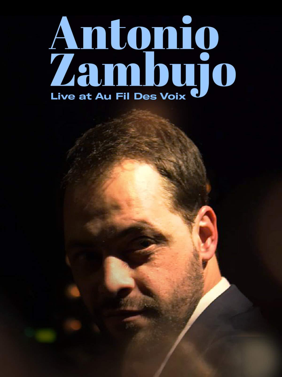 Antonio Zambujo - Live at Au Fil des Voix Festival