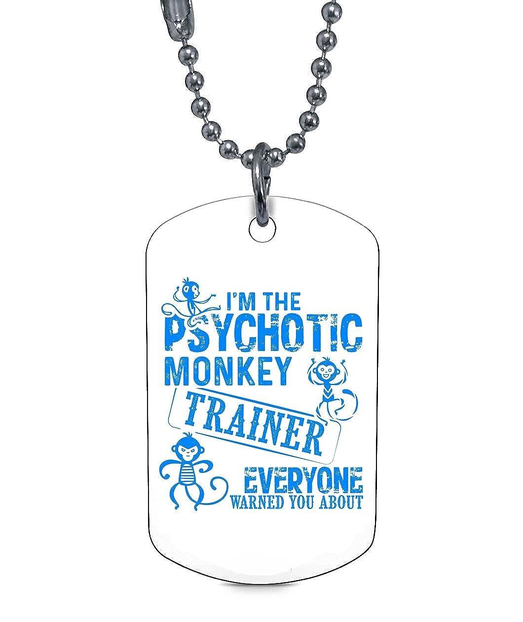 Amazon.com: Collares de mono con texto en inglés