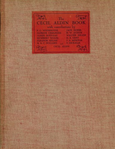 The Cecil Aldin Book. With contributions by P.G.Wodehouse, Patrick Chalmers, James Douglas, Humbert Wolfe, Eleanor Helme, H.B.C. Pollard, Jack Hobbs, H.W.Austin, Walter Meade, D.R.Gent, J.B.Morton, P.Rickman and Cecil Aldin. With 8 coloured plates, 7 Half-Tone Plates and 95 Black-and-White Drawings.