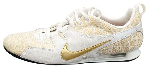 Nike Zapatillas de cuero para mujer dorado Gold/Creme