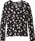 Dolce & Gabbana Kids Baby Girl's City Floral Long T-Shirt (Toddler/Little Kids) White/Black Print 3T Toddler