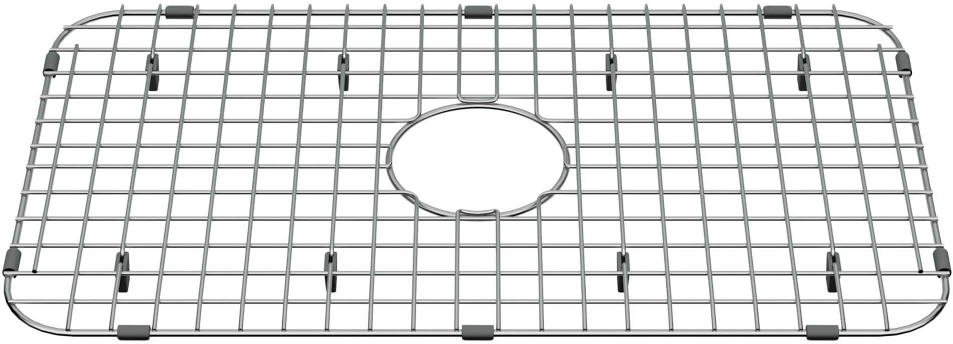American Standard 8432000.075 Delancey 23-13/16'' L x 13-9/16'' W Stainless Steel Basin Rack with Rubber Feet