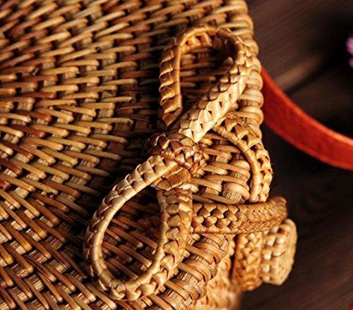 Sac Main Plage Vietnamienne De Paille Bandoulière La Sac GZHGF Rotin Green Sac en Mesdames à Main Tisséà twqXxHf