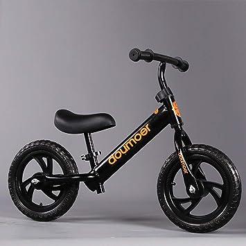 Bicicleta de Equilibrio for Niños Pequeños, 12 Pulgadas Sin Pedal ...