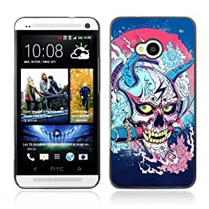 YOYOSHOP [Japanese Skull Monster Yakuza] HTC One M7 Case