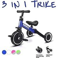 KORIMEFA 3 EN 1 Trciciclo Bicicleta de Equilibrio