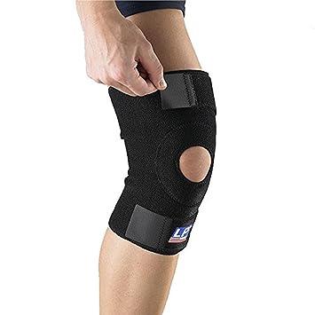 8d899dd8e3 Amazon.com: LP Open Patella Knee Support (Black; One Size Fits Most ...