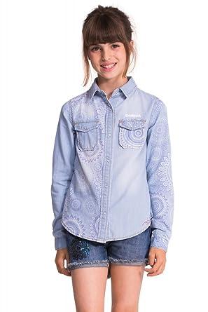 b7d52bb1a51 Chemise Desigual Kids Angora nc  Amazon.fr  Vêtements et accessoires