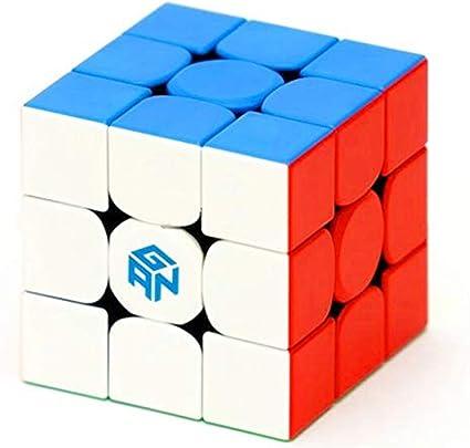 Amazon.com: Cuberspeed Gan 356 M stickerless 3x3 Speed Cube GAN356 M Lite  3x3x3 Magnetic Speed Cube: Toys & Games