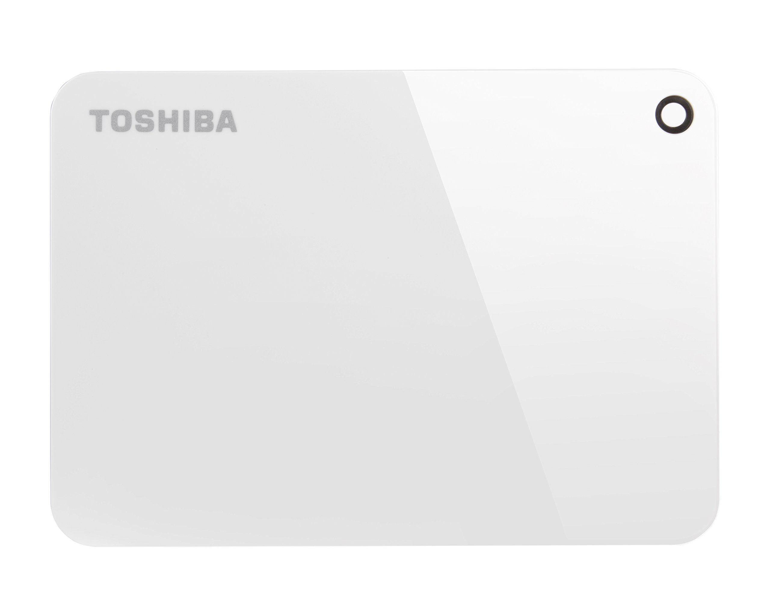 Toshiba Canvio Advance 1TB Portable External Hard Drive USB 3.0, White (HDTC910XW3AA) by Toshiba (Image #2)