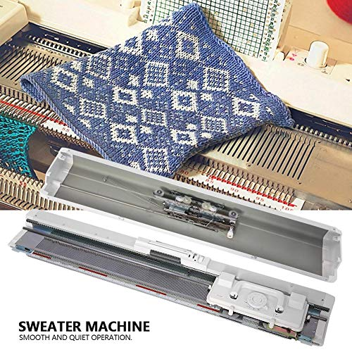 Knitting Machine 4.5mm Standard Gauge Plastic Domestic Knit Machine for Silver Reed SRP50 SRP60 SRP60N by ZJchao (Image #2)