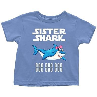 244b6d290 Amazon.com: Sister Shark Toddler Shirt 2018 Doo Doo Doo Official  VnSupertramp Apparel: Clothing