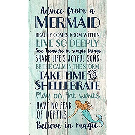 619ufJ6hQuL._SS450_ Mermaid Wall Art and Mermaid Wall Decor