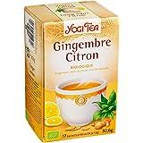 Yogi tea gingembre citron 17 sachets 30,6g