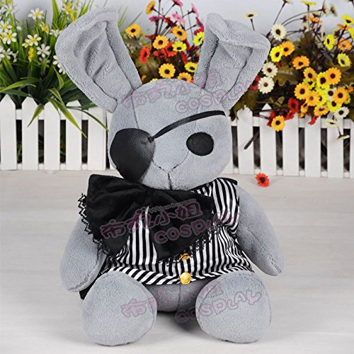 Curious George Halloween Costume Pattern (Anime Black Butler Kuroshitsuji Dall Ciel Plush Doll Peter Rabbit Toy 40cm Soft)