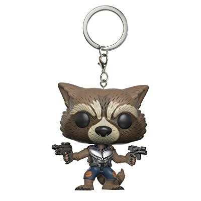 Funko Pop Keychain: Guardians of the Galaxy 2 Rocket Toy Figure: Funko Pocket Pop! Keychain:: Toys & Games