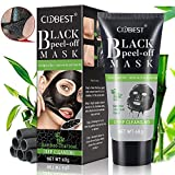 blackhead in ear Black Mask, Charcoal Mask, Peel Off Mask, Blackhead Remover Mask, Charcoal Peel Off Mask, Deep Cleansing Black Mask Purifying Face Mask Peel Off for Face Nose Acne Treatment Oil Control - 60g