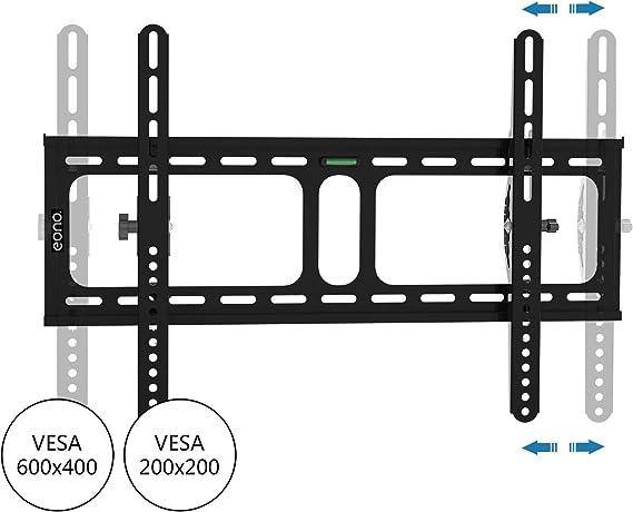 per TV da 32-70 Supporto a Parete inclinabile VESA 600 x 400 mm SPOQIE Essentials capacit/à 45 kg