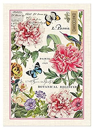 Bon Michel Design Works Peony Kitchen Towel