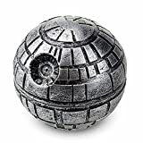 Exclusive Death Star Grinder for herbs, spices and tobacco with BONUS Christmas Gift BOX & Gift Wrap 1.9' 3 Pieces - Kief Catcher - 100% Customer Satisfaction Guarantee