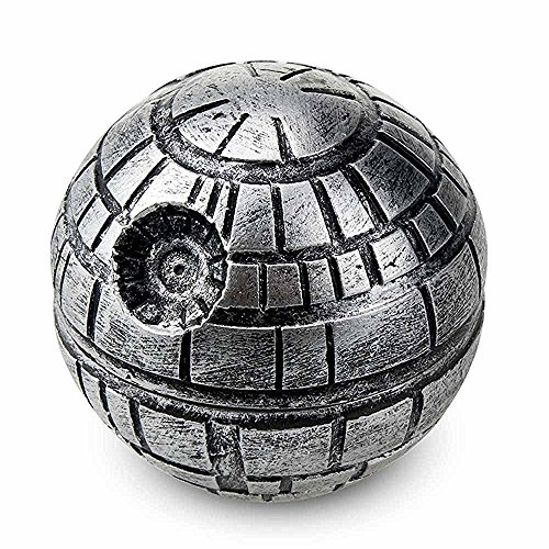 Exclusive-Death-Star-Grinder-for-herbs-spices-and-tobacco-with-BONUS-Christmas-Gift-BOX-Gift-Wrap-19-3-Pieces-Kief-Catcher-100-Customer-Satisfaction-Guarantee