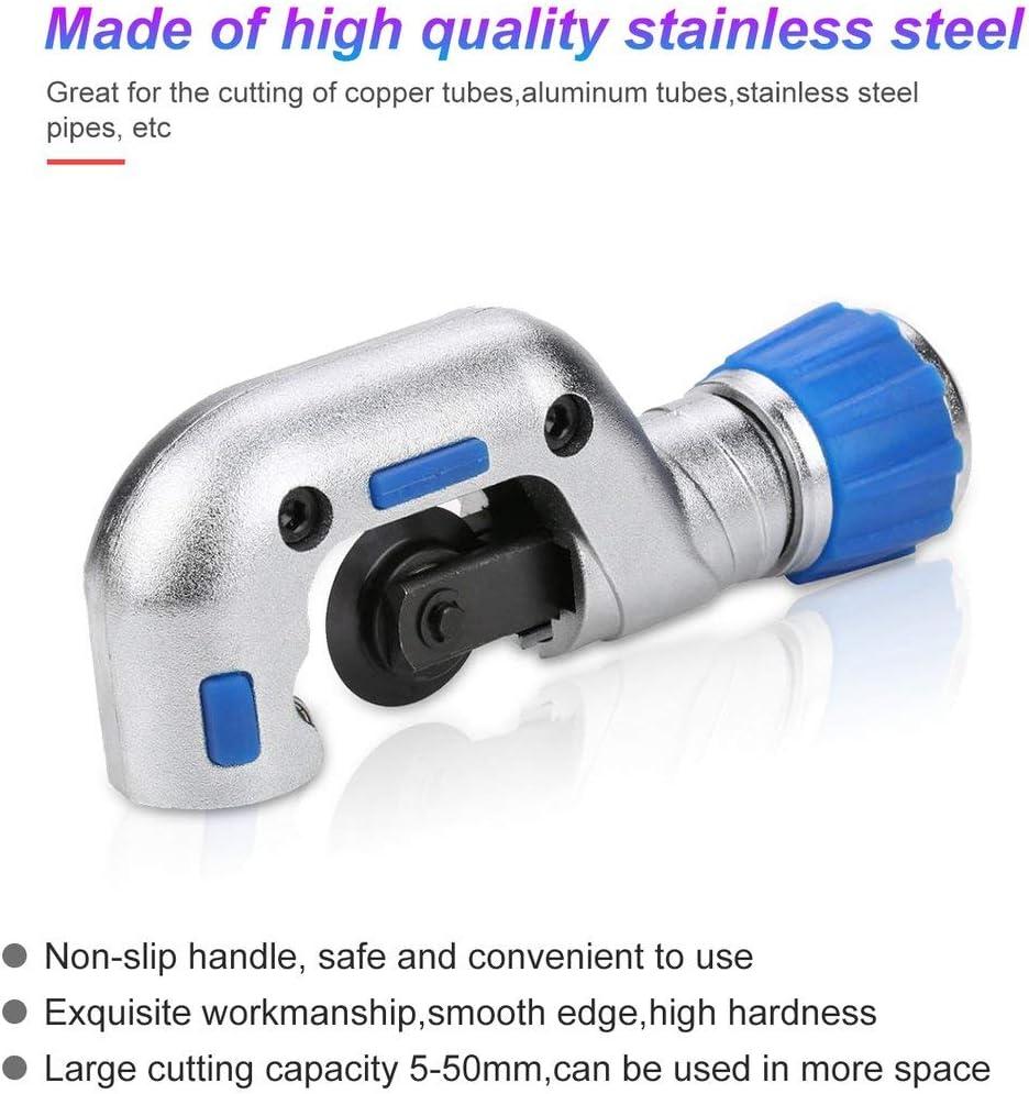 Longspeed 5-50 MM coupe-tube en acier inoxydable roulement /à billes coupe-tube cisaillement en laiton cuivre en aluminium PVC en plastique plomberie outils de coupe