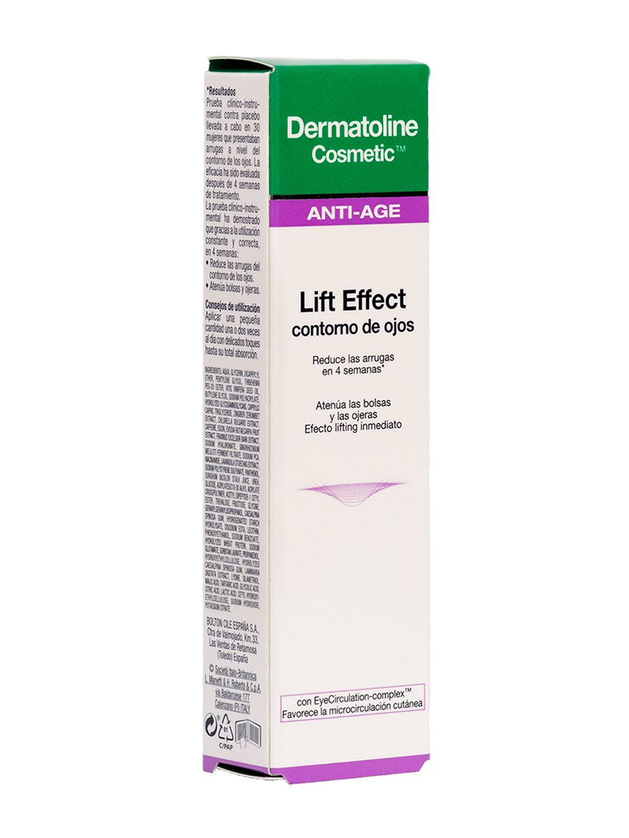 Amazon.com: Dermatoline Cosmetic Lift Effect Contorno De ...