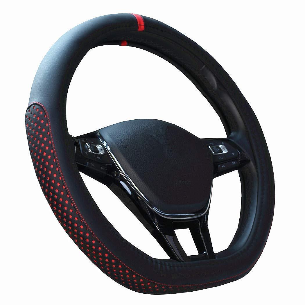 HCMAX D Tipo Veicolo Coprivolante Auto Protezione del Volante D-shape Diametro 38 cm 15